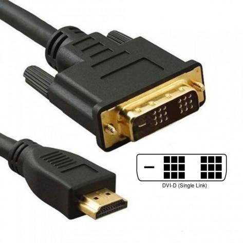 Cabo DVI-D para HDMI - 3 Metros