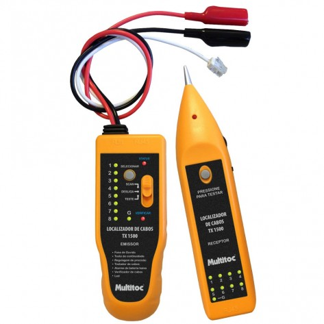 Kit Localizador e Testador de Cabos WH806R