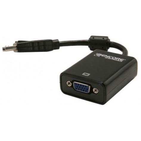 Adaptador DisplayPort para VGA Fêmea