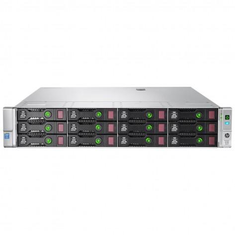 Servidor HPE ProLiant DL380 Gen9 LFF - Dual Xeon E5-2673 v3 - 192GB DDR4 ECC Reg. - Sem Discos - Rede 2x 40Gb / 4x 1Gb -2U - Seminovo