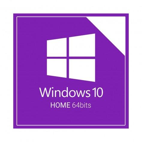 Microsoft Windows 10 Home 64 Bits - COEM