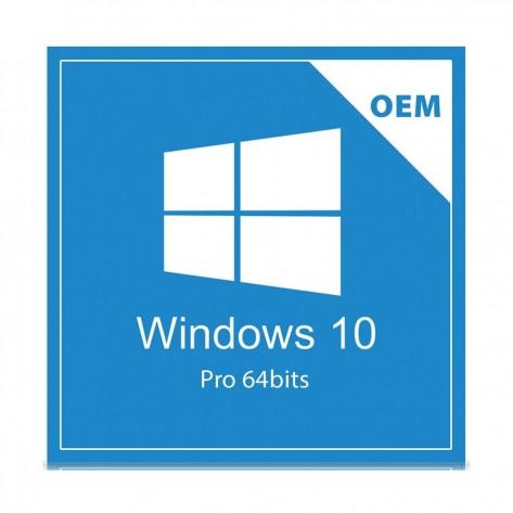 Microsoft Windows 10 Professional 64 Bits FQC-08932 - OEM COA