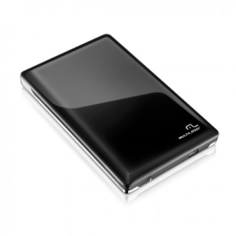 "Case para HD Multilaser GA115 - USB 3.0 - 2.5"" Sata - Preto"