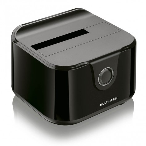 "Docking Station Multilaser GA125 para HD SATA 2,5""/3,5"" - USB 3.0"