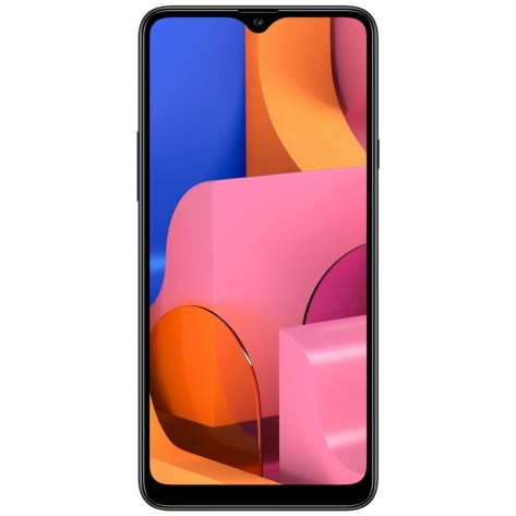 Smartphone Samsung Galaxy A20s SM-A207M/DS - 4G - Dual-SIM - Tela 6.5'' - Octa-Core - 32GB/3GB - Câmera Tripla Traseira 13.0 MP + 8.0 MP + 5.0 MP - Preto