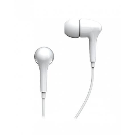 Fone de ouvido Genius - GHP-206 - Intra Auricular - Branco
