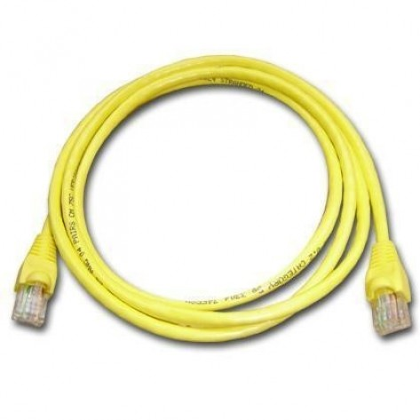 Patch Cord Hi Top CAT6e Flex Amarelo - 1.5 Metros