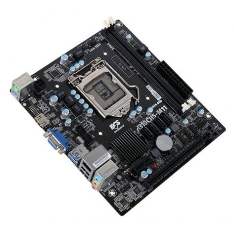 Placa Mãe ECS H310CH5-M11 - Chipset H310 - (DDR4, 4x Sata, HDMI, USB 3.0) - Soquete 1151