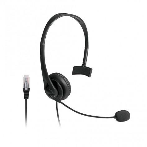 Fone de Ouvido Headset Telemarketing Multilaser PH251 - Conector RJ09