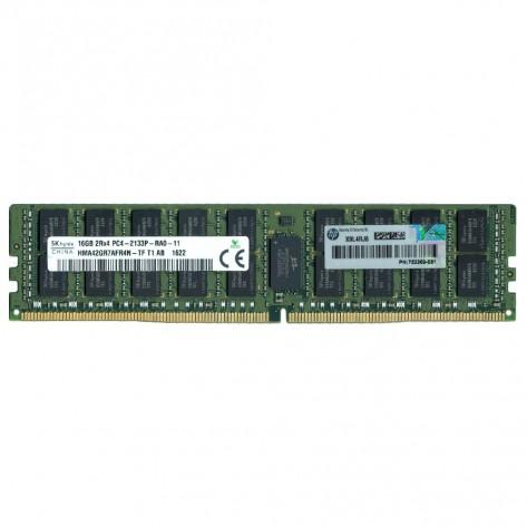 Memória 16GB DDR4 HPE 752369-081 - PC4-17000 (2133 MHz) - ECC Registrada - RDIMM