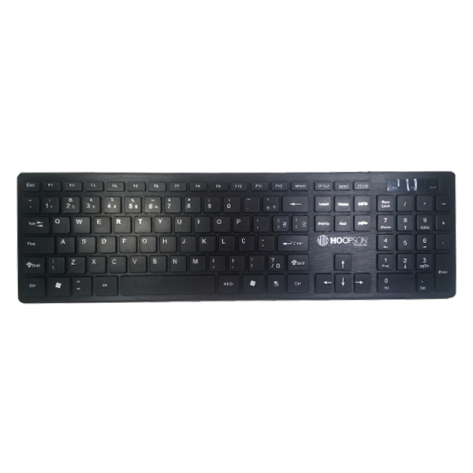Teclado chiclete Ultra-Slim Hoopson - TPC-043