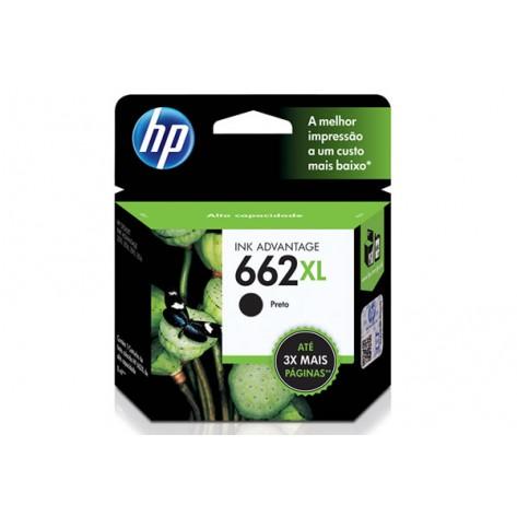 Cartucho tinta HP 662XL - Preto
