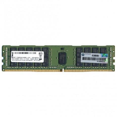 Memória 32GB DDR4 HPE 809083-291 - PC4-19200 (2400 MHz) - ECC Registrada - RDIMM