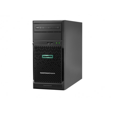 Servidor HPE ProLiant ML30 Gen10 P06781-001- Xeon E-2124 - 8GB DDR4 ECC - Sem Discos - 2x Rede 1Gb - Torre