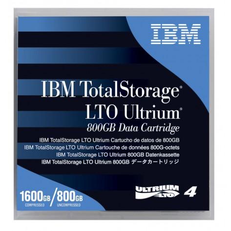 Cartucho de Dados IBM LTO-4 Ultrium - 800GB Nativo/ 1,6TB Comprimida