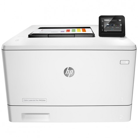Impressora HP Laser Colorida - M452dw - Wireless