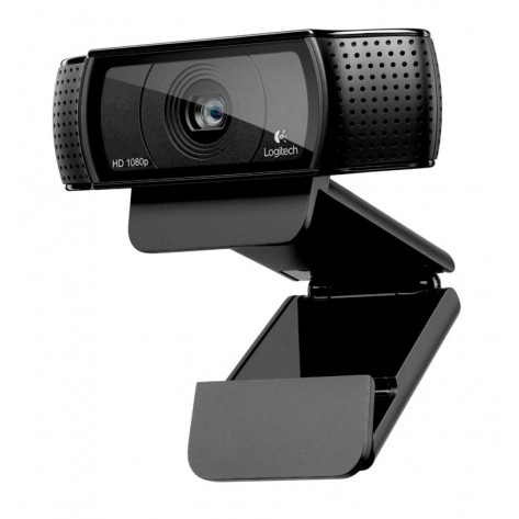 Webcam Logitech HD Pro C920 - HD Video 1080p e 720p - até 15 Megapixels