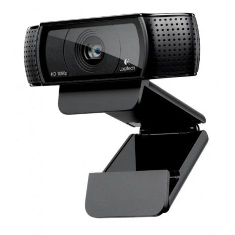 Webcam Logitech HD Pro C920 - HD Video 1080p e 720p - até 15 Megapixels