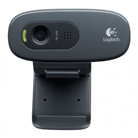 Webcam Logitech HD C270 - HD Video - 720p - 3 Megapixels