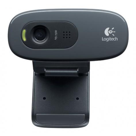 Webcam Logitech HD C270 - HD Video - 720p - 3 Megapixels