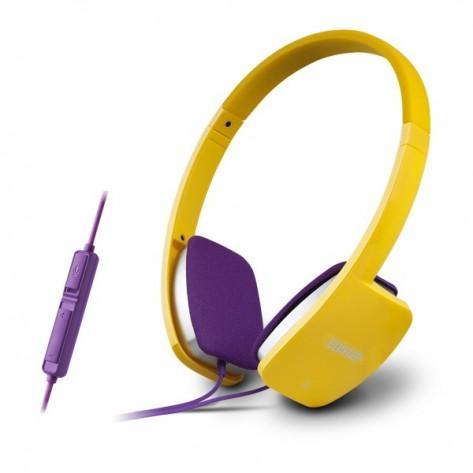 Fone de Ouvido com Microfone K680 Edifier - Amarelo