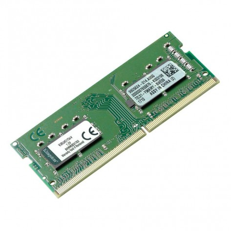 Memória para Notebook 4GB DDR4 Kingston KVR24S17S6/4 - PC4-19200 (2400 MHz) - SODIMM