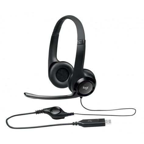 Fone de ouvido Headset Logitech H390