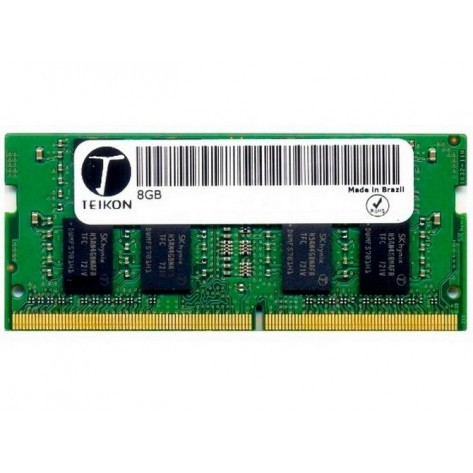 Memória para Notebook 8GB DDR4 Teikon TMA81GS6AFR8N-UHSC - PC4-19200 (2400 MHz) - SODIMM