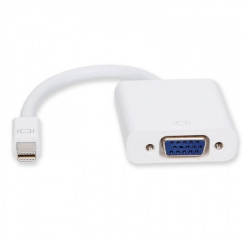 Adaptador Mini DisplayPort para VGA Fêmea