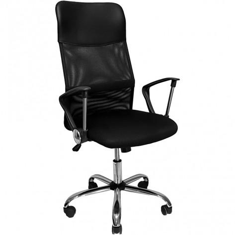 Cadeira Presidente Giratória Mymax MOCH-2001/BK - Preta