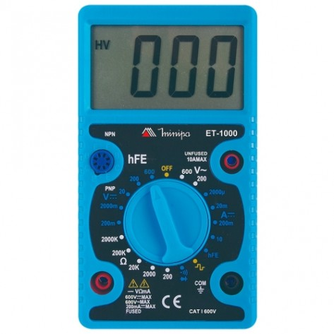 Multímetro Digital - Minipa ET-1000