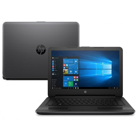 "Notebook HP 240 G6 3XU36LA#AC4 - Intel i3-7020U 2.30GHz - Tela 14"" - 4GB RAM - 500GB HD - Windows 10 PRO"