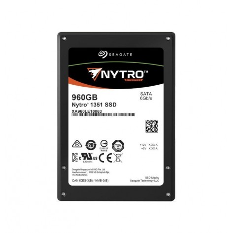 SSD 2.5'' 960GB Seagate Nytro 1351 XA960LE10063 - Leituras 560MB/s - SATA 6Gb/s