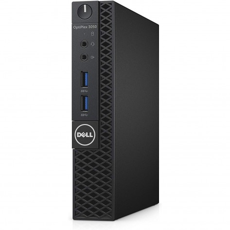 Computador Dell OptiPlex 3050 Mini - i3-6100T - 4GB RAM - 240GB SSD - Windows 10 PRO