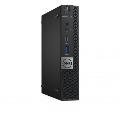 Computador Dell OptiPlex 7050 Mini - i3-7350K - 4GB RAM - 500GB HDD - Windows 10 PRO - Seminovo