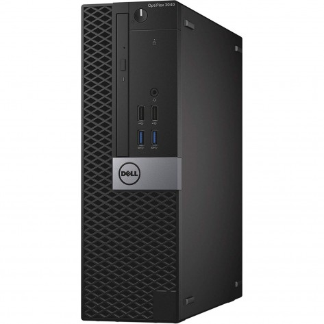 Computador Dell OptiPlex 3040 SFF - i3-6100 - 4GB RAM - 240GB SSD - Windows 10 PRO - Seminovo