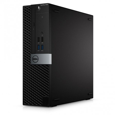 Computador Dell OptiPlex 7040 SFF - i3-6100 - 4GB RAM - 240GB SSD - Windows 10 PRO - Seminovo