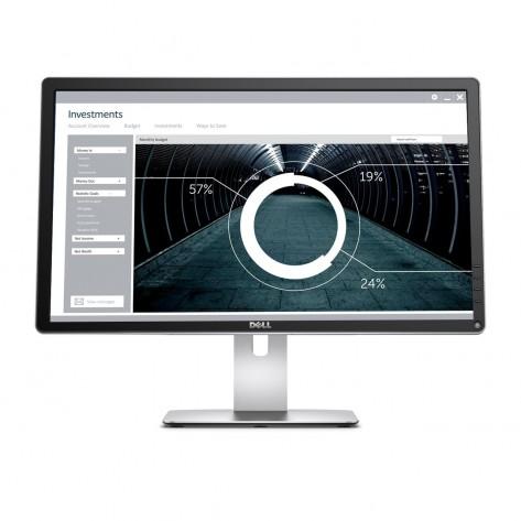 Monitor 23.8'' LED Dell P2415Q - 3840 x 2160, 60Hz, 8ms - Hub USB - 4K Ultra HD - Seminovo