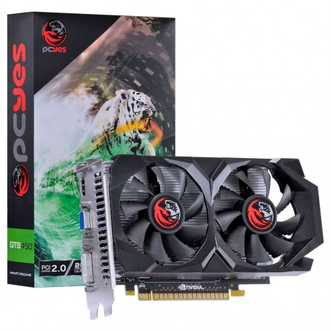 Placa de Vídeo PCYes NVIDIA Geforce GTS 450 - 2GB GDDR5 128 bits - PCI-E 2.0