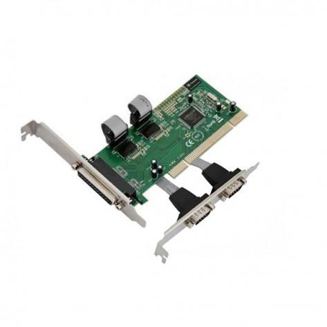 Placa PCI 2 saídas seriais RS232 e 1 Paralela