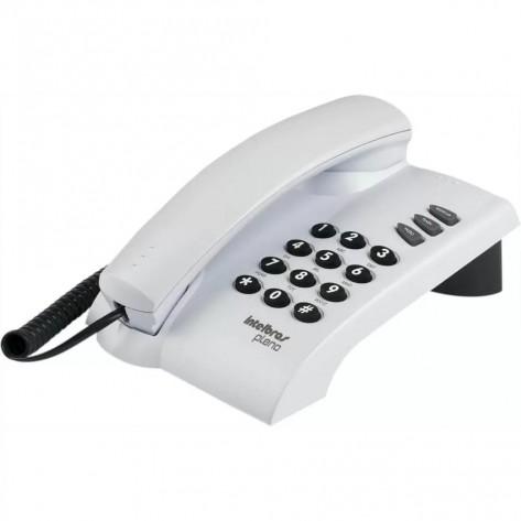 Telefone Intelbras Pleno - Cinza-ártico - Sem Chave