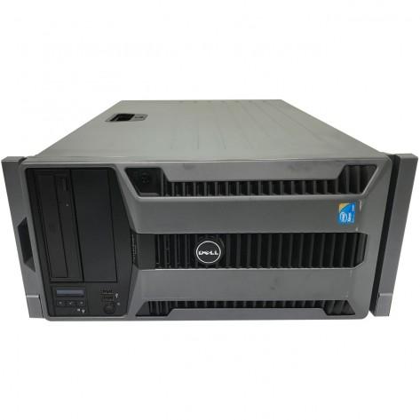 Servidor Dell PowerEdge T710 - Dual Xeon E5620 - 24GB DDR3 ECC - 4x300GB SAS - Rede 4x1Gb - 5U - Seminovo