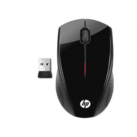 Mouse sem fio HP X3000 (H2C22AA) - Wireless 2.4GHz - 1600 dpi - Preto