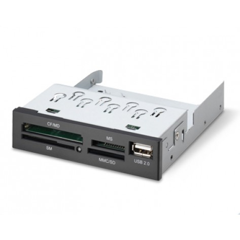 Leitor de cartão de Memória K-Mex AC-I83221 - Preto USB 2.0