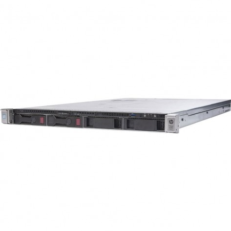 Servidor HPE ProLiant DL360 Gen9 - Dual Xeon E5-2673 v3 - 256GB DDR4 ECC Reg. - Sem Discos - Rede 2x 40Gb / 4x 1Gb -1U - Seminovo