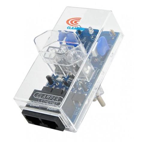 Protetor DPS Clamper C-PT-1Nt-2J5-L - Energia + Ethernet