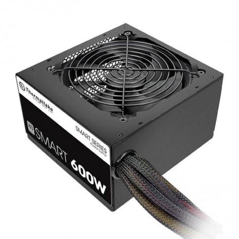 Fonte ATX 600W Thermaltake Smart PS-SPD-0600NPCWBZ-W - 80 Plus White - PFC Ativo