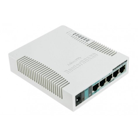 Roteador MikroTik RB951G-2HND - Com Wireless integrado - PoE - 10/100/1000