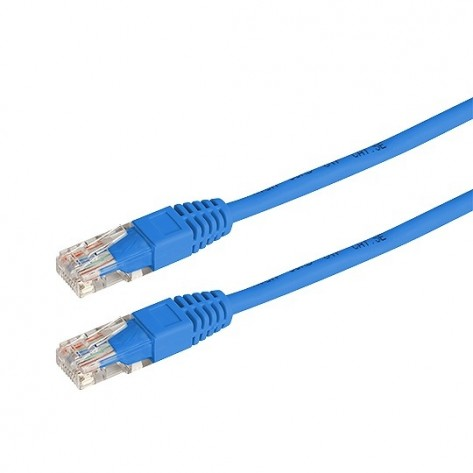 Patch Cord UTP CAT5e Azul Rontek CB0379-3M-FU - 3 Metros