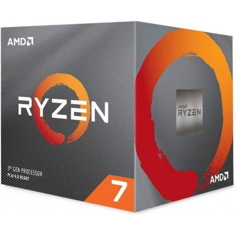 Processador AMD Ryzen 7 3700X 100-100000071BOX - Cache 32MB, 3.6GHz (4.4GHz Max Turbo), Sem Vídeo - Socket AM4